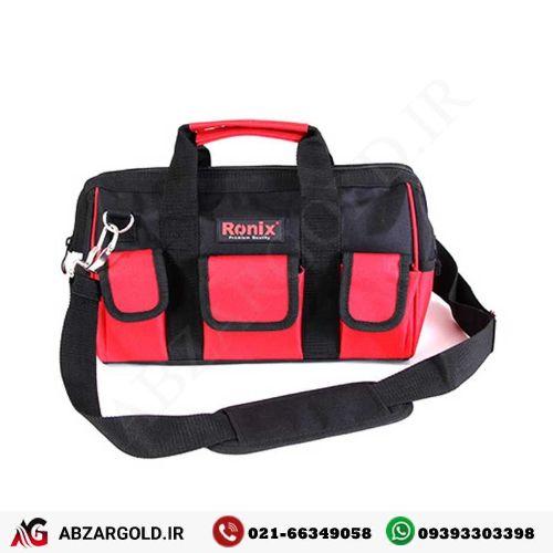 کیف ابزار برزنتی 15 کیلویی رونیکس RH-9113