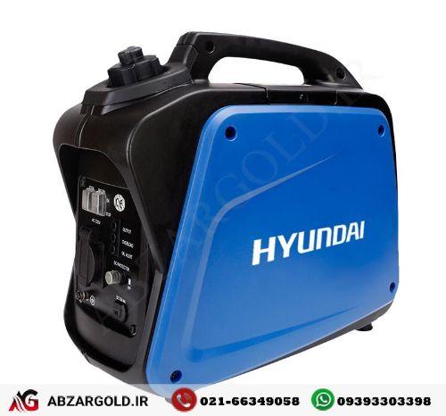 ژنراتور برق 1٫2 کیلو وات بی صدا هیوندای HG1210-IG