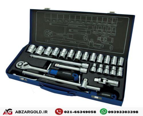 جعبه بکس 24 پارچه 1/2 اینچ هیوندای SS-1224